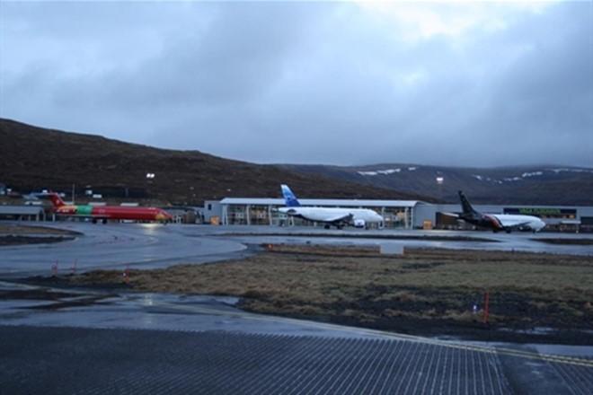 Framburður á flogvøllinum