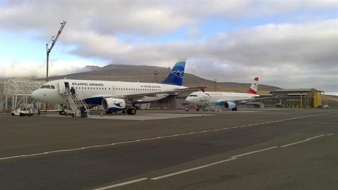 Faroe Island airport set a new passenger record in 2013