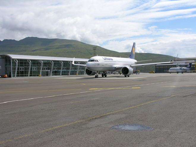 Lufthansa A320neo på Færøerne