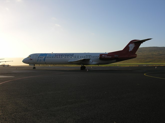SkyGreenland on the Faroe Islands for the first time
